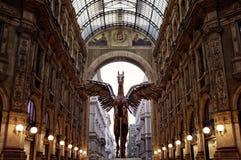Galleria Vittorio Emanuele II Royalty Free Stock Photos