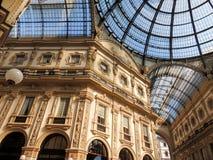 Galleria Vittorio Emanuele II fotografia royalty free