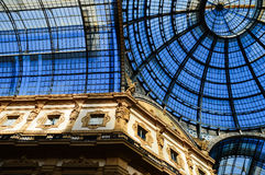 Galleria Vittorio Emanuele II in central Milan, Italy Stock Photography