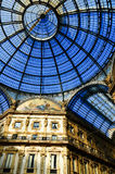 Galleria Vittorio Emanuele II in central Milan, Italy Royalty Free Stock Image