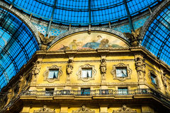 Galleria Vittorio Emanuele II Royalty Free Stock Photos