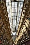 Galleria Vittorio Emanuele II di Milano fotografia stock libera da diritti