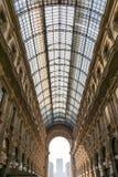 Galleria Vittorio Emanuele II Entryway Famous Destination Italy Royalty Free Stock Image