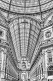 Galleria Vittorio Emanuele II, iconic shopping center in Milan,. MILAN - SEPTEMBER 11: Interior of Galleria Vittorio Emanuele II, iconic shopping center and Stock Photos