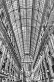 Galleria Vittorio Emanuele II, iconic shopping center in Milan,. MILAN - SEPTEMBER 11: Interior of Galleria Vittorio Emanuele II, iconic shopping center and Royalty Free Stock Image