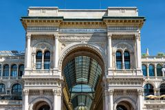 Free Galleria Vittorio Emanuele II In Milan, Italy Royalty Free Stock Images - 104757329