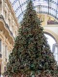 Galleria Vittorio Emanuele II, Mailand Stockfotos