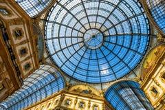 Galleria Vittorio Emanuele II in Mailand Lizenzfreies Stockbild