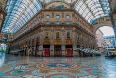 Galleria Vittorio Emanuele II, Mailand, Italien Lizenzfreie Stockfotografie