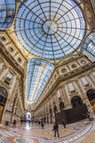 Galleria Vittorio Emanuele II - Mediolan Obraz Stock