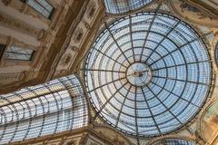Galleria Vittorio Emanuele II 2015 - Mediolan, Luty - Obraz Stock