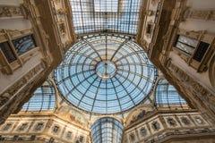 Galleria Vittorio Emanuele II 2015 - Mediolan, Luty - Zdjęcia Stock