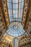 Galleria Vittorio Emanuele II 2015 - Mediolan, Luty - Obrazy Stock