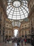 Galleria Vittorio Emanuele II, Milaan Royalty-vrije Stock Afbeeldingen