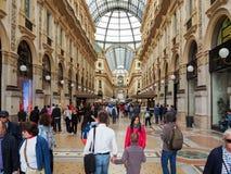 Galleria Vittorio Emanuele II in Milaan Royalty-vrije Stock Foto