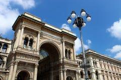 Galleria Vittorio Emanuele II, Milaan, Italië Stock Foto's
