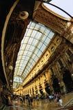 Galleria Vittorio Emanuele II Milaan Lombardije Italië Royalty-vrije Stock Afbeelding