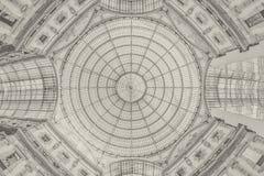 Galleria Vittorio Emanuele II - Milan - background Royalty Free Stock Image