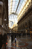Galleria Vittorio Emanuele II in Milan Stock Photo