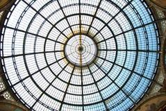 Galleria Vittorio Emanuele II, Milan, Italie Images libres de droits