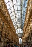 Galleria Vittorio Emanuele II, Milan, Italie image libre de droits