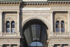 Galleria Vittorio Emanuele II, Milan, Italy Royalty Free Stock Photography