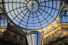 Galleria Vittorio Emanuele II in Milan, Italy Stock Photography