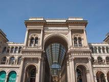 Galleria Vittorio Emanuele II Milan Royalty Free Stock Photography