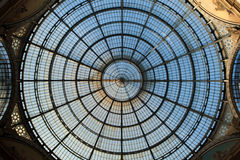 Galleria Vittorio Emanuele II in Milan, Italy. Royalty Free Stock Photography