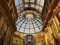The Galleria Vittorio Emanuele II. Milan, Italy Stock Photos
