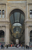 Galleria Vittorio Emanuele II in Milan Royalty Free Stock Photo