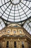 Galleria Vittorio Emanuele II Royalty Free Stock Images