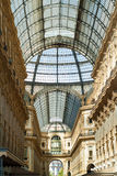 Galleria Vittorio Emanuele II Stock Photography
