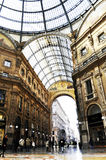 Galleria Vittorio Emanuele II in Milan, Italy Royalty Free Stock Images