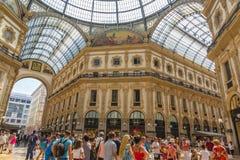 Galleria Vittorio Emanuele II Stock Photos