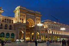 Galleria Vittorio Emanuele II  in Milan. Stock Photo