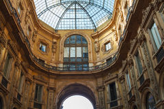 Galleria Vittorio Emanuele II, Milan Royalty Free Stock Photo