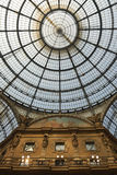 Galleria Vittorio Emanuele II, Milano Fotografia Stock