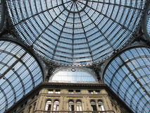 Galleria Vittorio Emanuele  II in naples Stock Image