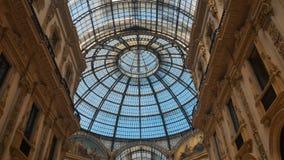 The Galleria Vittorio Emanuele II stock photos