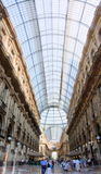Galleria Vittorio Emanuele II shopping gallery in Milan, Italy Stock Images