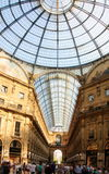 Galleria Vittorio Emanuele II shopping gallery in Milan, Italy Stock Image