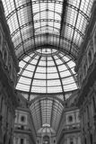 Galleria Vittorio Emanuele II. A view of the structure of the Galleria Vittorio Emanuele II in Milan, Italy Royalty Free Stock Photography