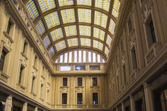 Galleria Vittorio Emanuele III в Мессине Стоковое фото RF