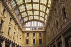 Galleria Vittorio Emanuele III en Messina Foto de archivo libre de regalías