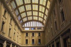 Galleria Vittorio Emanuele III en Messina Imagen de archivo libre de regalías