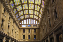 Galleria Vittorio Emanuele III i Messina Royaltyfri Bild