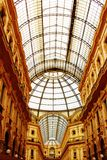 Galleria Vittorio Emanuele, Milão Fotos de Stock