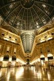 Galleria Vittorio Emanuele, Milão, Italy Fotos de Stock Royalty Free