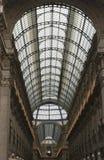 Galleria Vittorio Emanuele Milaan stock afbeelding